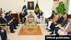 وزیراعظم سے مہمان وزراء کی ملاقات