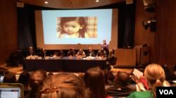 瑞潔:一胎化政策導致嚴重反婦女暴力(美國之音方冰拍攝)