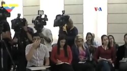 Venezuela: oposición desmiente presunto plan desestabilizador