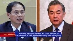 Ngoại trưởng Việt-Trung trao đổi 'thẳng thắn' vấn đề biển Đông