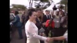 Umkamongameli weleChina lowe Zimbabwe bethekelela indawo egcinelwa intandane eHarare