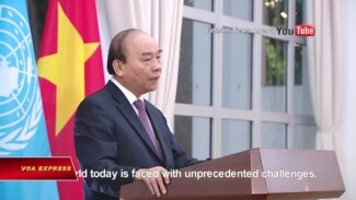 Thủ tướng Phúc gửi thông điệp 'độc lập, chủ quyền' tới LHQ