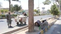 گرمی هوا در هرات، سبب افزایش بیماری ها در میان معتادان