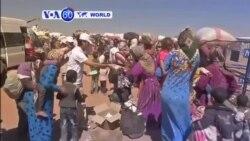 VOA60 Duniya: Kurdawa na Gudun Hijira Zuwa Turkiya, Satumba 22, 2014