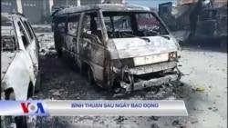 Bình Thuận những ngày sau bạo động