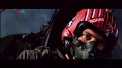 """VOA Radio Pop Culture: Film """"Top Gun"""" Diputar Ulang dan Sekuelnya Siap Dirilis"""
