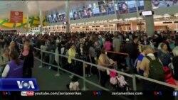 Radhë të gjata në aeroportet amerikane