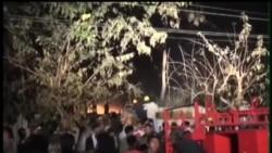 2014-01-22 美國之音視頻新聞: 仰光機場火災影響航班升降