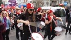 Ankara'da Dünya Kadınlar Günü