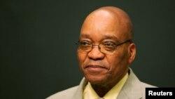 président Jacob Zuma lors d'une conférence de presse au Cap, Afrique du Sud, 14 juin 2015.