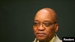 Le président sud-africain Jacob Zuma, 14 juin 2005.