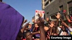 Zimbabwe Protesters Harare