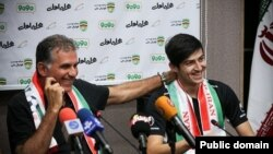 Carlos Queiroz, l'entraîneur de l'équipe nationale iranienne, le 2 septembre 2015.