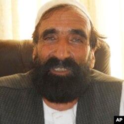 محمد رسول فایق مسئول اتحادیه مولدین و صادركنندگان قالین در غرب افغانستان