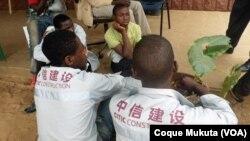 Angola: Jovens trabalhadores de companhias de construção chinesas