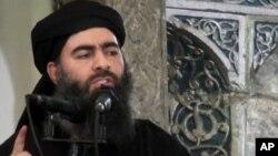 Thủ lĩnh của Nhà nước Hồi giáo Abu Bakr al-Baghdadi.