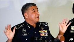 칼리드 아부 바카르 말레이시아 경찰청장.