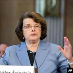 California's Democrat Senator Dianne Feinstein (File Photo)
