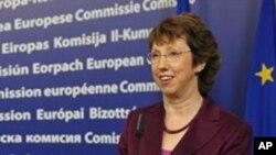 欧盟外交政策主管阿什顿(资料照片)