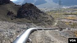 Bank Tiongkok membatalkan rencana membiayai jalur pipa gas dari Iran ke Pakistan.