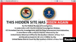 Alleged homepage to Silk Road 2.0, successor website to Silk Road, in a screenshot labelled Exhibit A from a U.S. Department of Justice criminal complaint filed against Blake Benthall, Nov. 6, 2014.