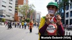 لاطینی امریکہ میں پریس کی آزادی کے لیے مظاہرہ، فائل فوٹو