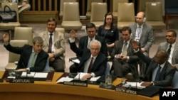 Голосование по сирийской резолюции