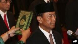 Menteri Koordinator bidang Politik Hukum dan Keamanan Jenderal Purnawirawan Wiranto. (Foto: Dok)