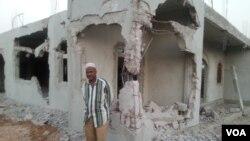 Mesquita destruída em Luanda