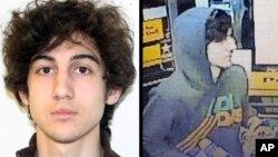 미국 FBI가 공개한 보스턴 테러 용의자 조하르 차르네프의 사진들.