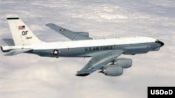 Máy bay RC-135U của Không quân Hoa Kỳ. (Ảnh tư liệu)