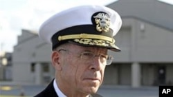 美国参谋长联席会议主席马伦上将(资料照片)