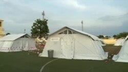 """COVID-19: """"O hospital de campanha é uma calamidade"""", diz doente em São Tomé e Príncipe"""