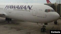 Adolescente viajó de California a Hawai en el tren de aterrizaje de un Boeing de Hawaiian Airlines.