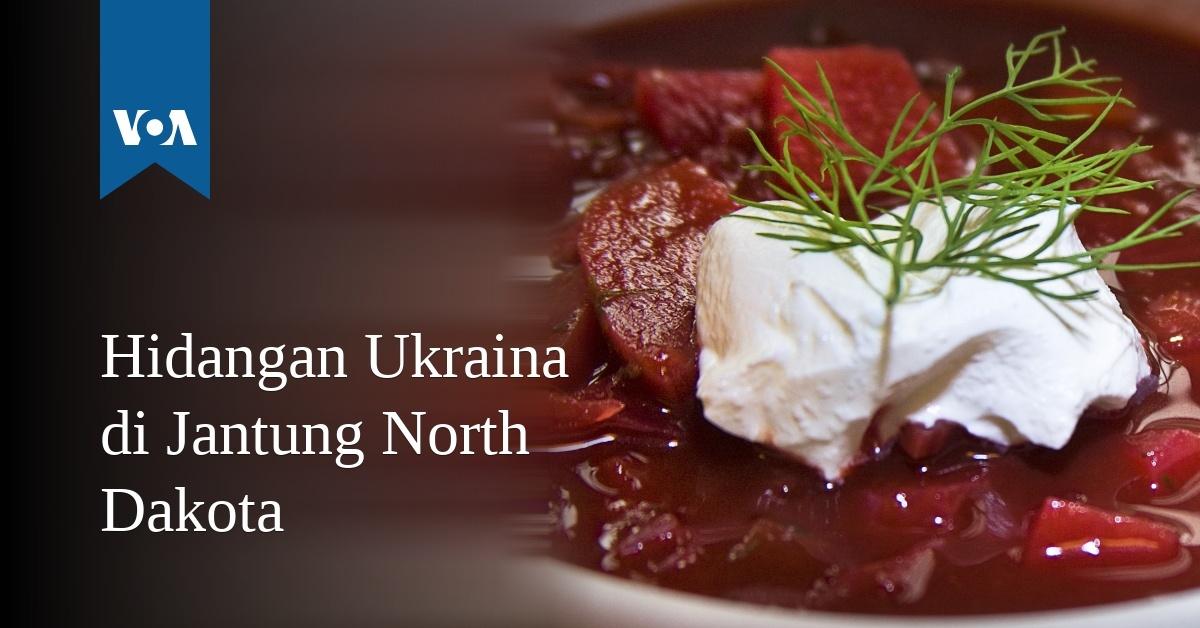 Hidangan Ukraina Di Jantung North Dakota