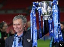 José Mourinho, alors entraîneur de Chelsea, le 1mars 2015.