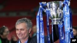 José Mourinho, Londres, 1er mars 2015
