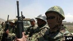 Quân đội Afghanistan tạo căn cứu quân sự ở Kabul, ngày 27 tháng 4, 2011