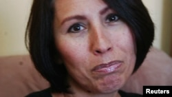 멕시코에서 마약 밀매 혐의로 체포당했다가 30일 석방된 미국 여성 야니라 말도나도.