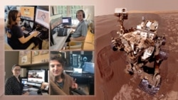 အဂၤါၿဂိဳလ္ စူးစမ္းေလ့လာေရးယာဥ္ကို NASA သိပၸံ ပညာရွင္ေတြ အိမ္ကေန ေမာင္းႏွင္