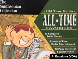 "A copy of 'Old Time Radio' CD's by The Smithsonian Collection which includes episodes of ""The Lone Ranger"" from 1933."