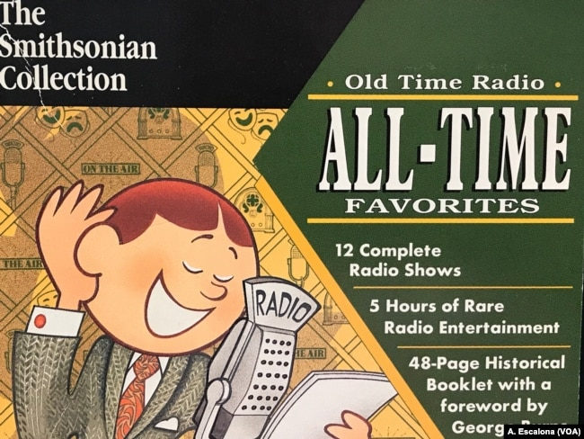 """A copy of 'Old Time Radio' CD's by The Smithsonian Collection which includes episodes of """"The Lone Ranger"""" from 1933."""