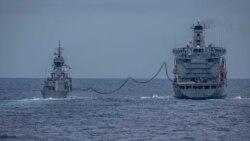 美澳海軍完成南中國海聯合軍演 美艦長強調共同價值觀至關重要