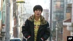 북한의 정치범수용소를 다룬 다큐 영화 '캠프 14'가 그려낸 실화의 주인공 신동혁 씨.