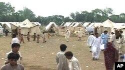 پیش بینی باران های سنگین بیشتر در مناطق سیلاب زده پاکستان