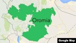 Oromia map