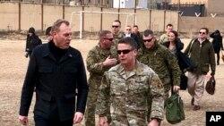 دیدار سرزده پاتریک شاناهان سرپرست وزارت دفاع آمریکا از افغانستان