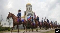 Москва. Россия. 12 августа 2012 г.