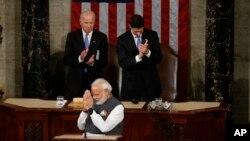 مودی گفت که هند نیرومند مهترین شریک استراتیژیک امریکا است