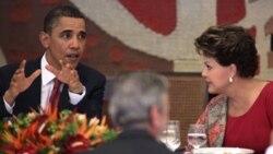 اوباما: دمکراسی در برزیل نمونه ای برای سایر جهان است
